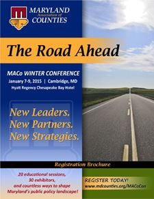 2015 Winter Conference - Road Ahead Brochure Cover