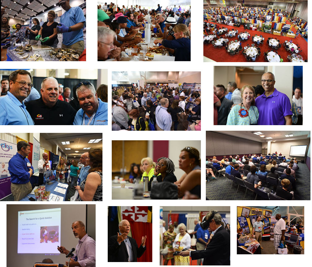 2017 Summer Conference Photo Collage